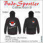 Mobile Preview: Budo Sportler mit Herz Hoodie - MAN