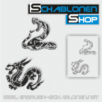 Tattoo Schablonen SET 22