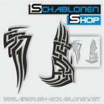 Tribal Schablonen Set01