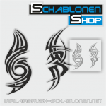 Tribal Schablonen Set05