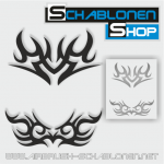 Tribal Schablonen Set07