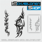 Tribal Schablonen Set11