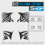 Tribal Schablonen Set15