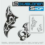 Tribal Schablonen Set19