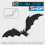 Tattoo Schablone Fledermaus