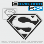 Tattoo Schablone Superman